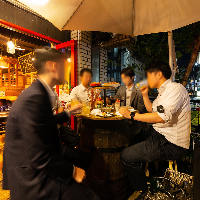 【人気】 換気もばっちり◎開放的なテラス席で3密回避の飲み会