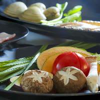 沖縄の山海の恵みがヘルシーな蒸し料理をお楽しみください