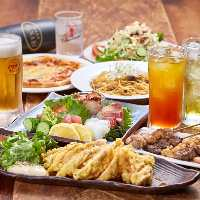 幅広いジャンルの料理とお酒の組み合わせを考えるのも楽しい!