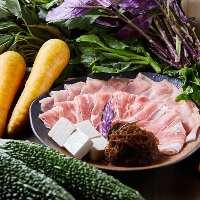 【地元食材】 地元の食材を地元ならではの調理法で召し上がれ