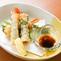 【海老祭り】 海老を使用した海老料理を500円(税抜)均一で♪