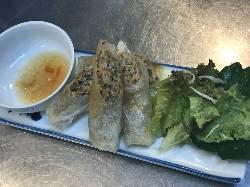 春巻きをはじめ、多彩なベトナム料理リーズナブルにご提供!