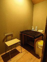 授乳室&おむつ替え室完備