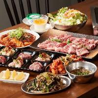 ◆:宴席を彩るコース:◆ 食べごたえ満点のラインナップをご提供