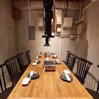◆:美食空間:◆ モダンで落ち着きのある4~8名様用の個室を完備