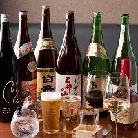 【店長厳選】 自ら蔵に出向いて選びぬいた地酒30種類をご用意