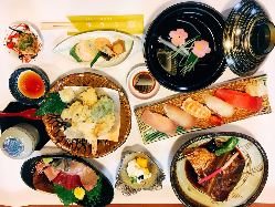 贅沢ランチにおすすめ『寿司てんランチ 1,500円(税抜)』
