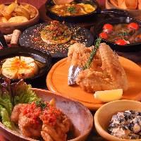 厳選食材あか牛を使用したステーキやカツレツなど牛料理も充実!
