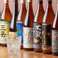 【選りすぐりの焼酎】 宮崎の酒造から6種類程度仕入れています