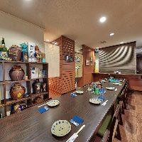【観光のお食事に】 テーブル席や離れの個室など使い勝手◎