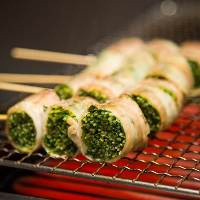 ◆野菜巻き串◆ 豚バラと野菜がベストマッチなヘルシーメニュー