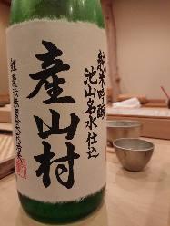 京都の酒や、地元・熊本の新進気鋭の蔵元の酒など多数ご用意。