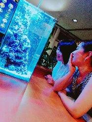 ◆アクアリウム◆ 熱帯魚を眺めながら過ごす素敵な沖縄の夜☆