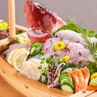 【鮮度抜群の地魚】 刺身やマース煮など様々な調理法でご提供!