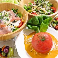 地産地消 宮崎県産の新鮮野菜を使用しています!