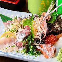 【自慢の鮮魚】新鮮!豊富なメニューをお楽しみ頂けます!