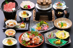 一番人気「季節の和会食」