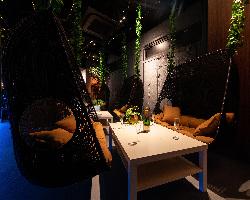 二人掛けのソファーブランコでリゾート感覚をお楽しみください^^