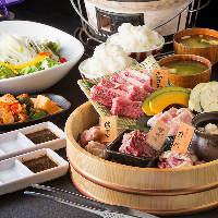 【焼肉宴会】 黒毛和牛を心ゆくまで食べられるコースをご用意