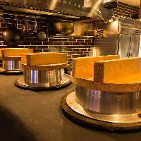 【ふっくらご飯】 大きな羽釜で少量のお米を炊きあげる銀しゃり