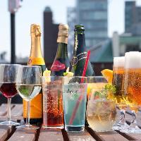 飲み放題メニューは40種以上と豊富に取り揃えております!
