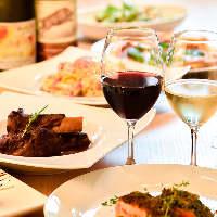 ◇イタリアのワイン◇ 料理とよく合うワインを揃えています