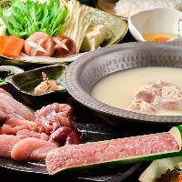 【各種宴会に】 飲み放題付コースは水炊きも日本酒も味わえます