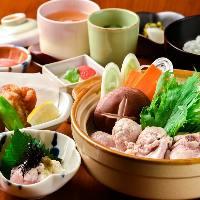 【九州産】 地鶏や野菜など、地の物を使用した本格的な郷土料理