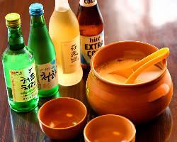 韓国料理と相性抜群きんきんに冷えた「マッコリ」