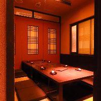 個室、テーブル席等様々なシーンでご利用できる席をご用意!