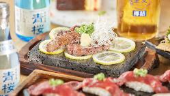 お魚だけじゃありません!牛ステーキなどお肉料理も充実◎