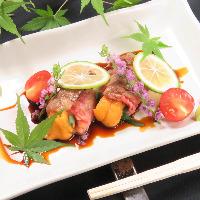 肉だけじゃない! 和食出身の料理人が作る創作和食。
