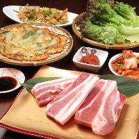 その他、韓国料理を豊富に取り揃えております♪