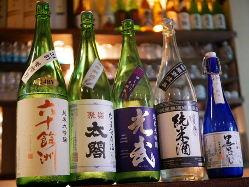 他では飲めない酒幸別注品のお酒も豊富に取り揃えてます。