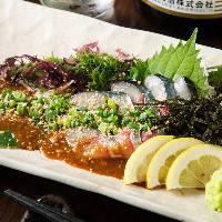 九州食材をメインに店主の腕が鳴る創作メニューを多数ご用意!