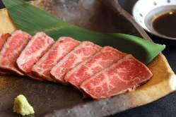 和牛トロ炙り焼き750円 当店自慢のメニューです!
