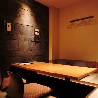 【プライベート個室】 やわらかな灯りが照らすくつろぎの空間