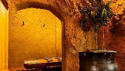 【洞窟個室】 ワクワクするような個室空間。人気の秘密の部屋