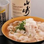 糸島零ONEポーク黄金出汁肉豆腐