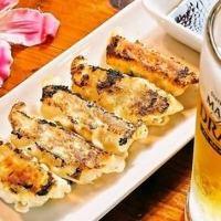 餃子とビールの相性は抜群です!!