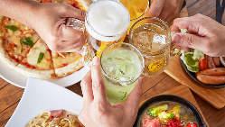 【飲み放題】 多彩なドリンクが楽しめる飲み放題は女子会に最適