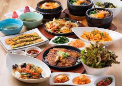 こだわりの逸品を集めた韓国料理を存分に楽しめるコース3,200円
