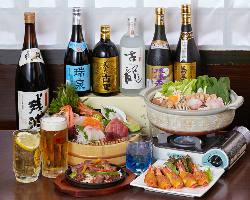 幹事様必見!忘新年会 鍋コース+食べ飲み放題3時間3000円!!