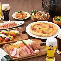 ビアガーデンで誕生日をお祝い♪その他もお気軽にご相談下さい♪