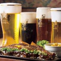生ビールを7種類ご用意! お気に入りを見つけてください。
