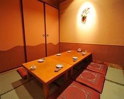 完全個室は4名様より ご商談、大切なおもてなしのお席に