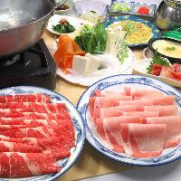 二種肉しゃぶしゃぶ食べ放題コースプラン5,000円