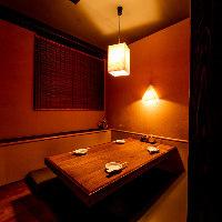 食事会から会社宴会・接待までご利用可能な多彩な個室を完備!