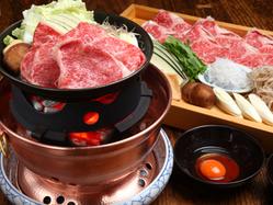 松阪牛のすき焼はこだわり卵との相性抜群!