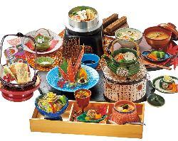 春の季節御膳 枝垂れ 〜しだれ〜 4,200円(税別) 1日限定30食